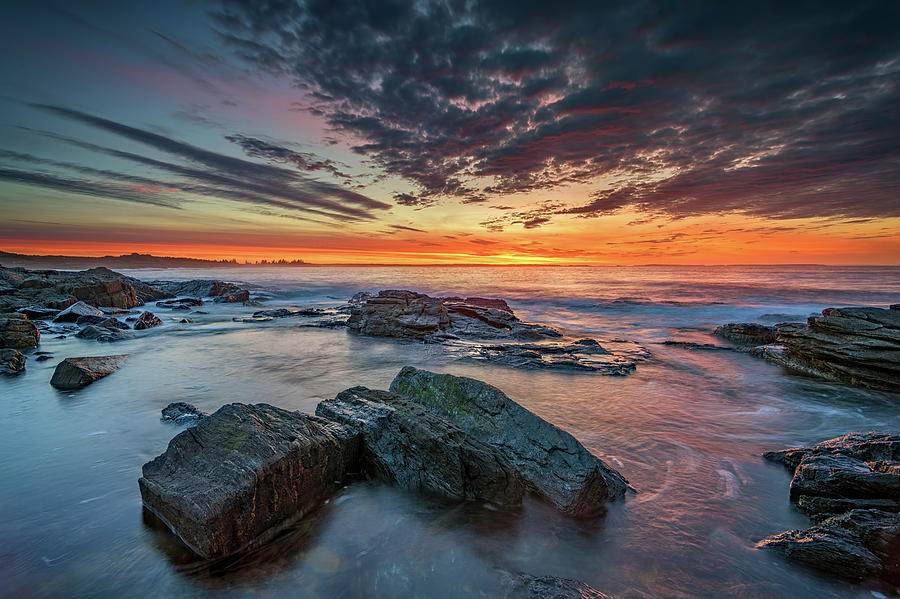 Sagadahoc Sunrise by Rick Berk