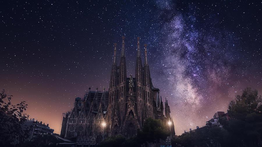 Sagrada Familia Photograph by Carlos F. Turienzo