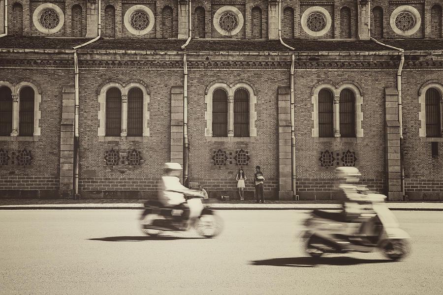 Saigon Old Corner Photograph by Jethuynh