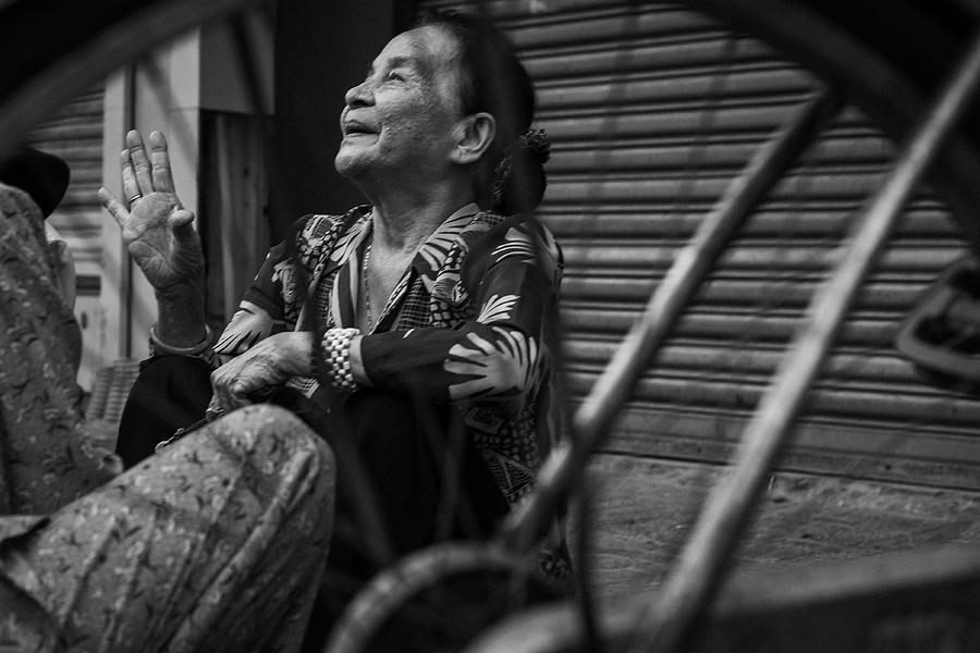 Saigon Smile by Sam Morris