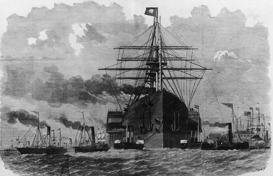 Sail And Steam Digital Art by Hulton Archive