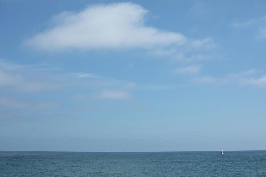 Sailboat at a Minimum by Peter Tellone