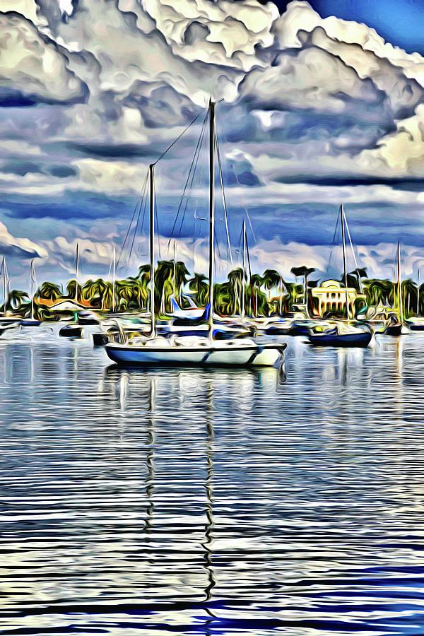 Sailboat Clouds by Alice Gipson