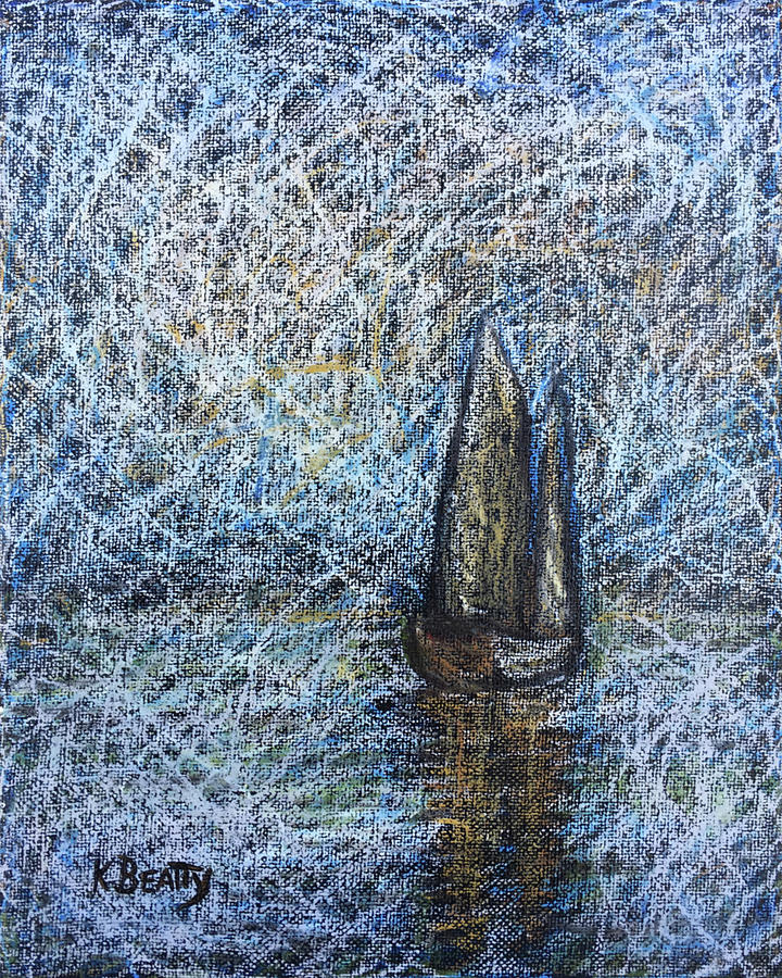 Sailboat in the Mist by Karla Beatty