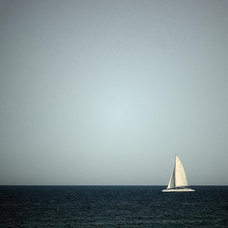 Sailboat Photograph by Remo Kottonau