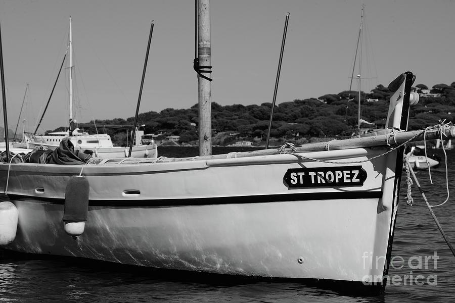 Sailboat Saint-Tropez by Tom Vandenhende