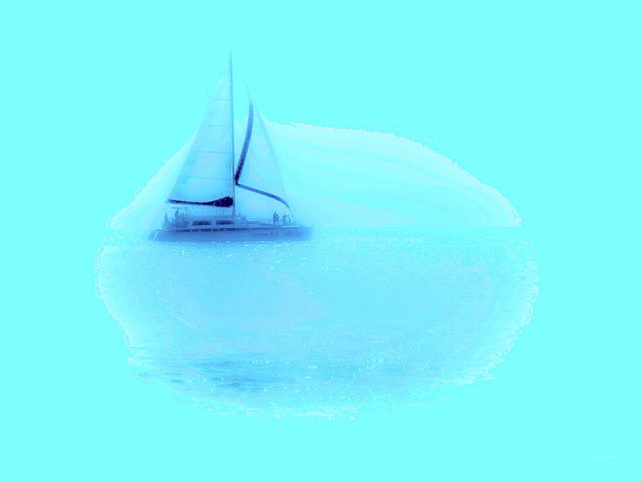 Sailboat Vista by Diane Lindon Coy