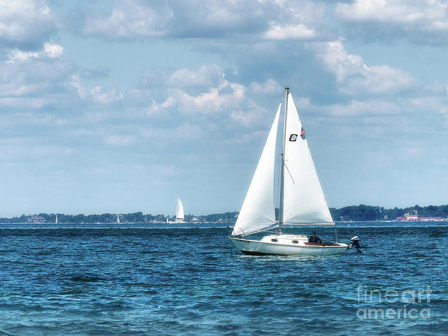 Sailing Along the Tisbury Coast by Mark Miller
