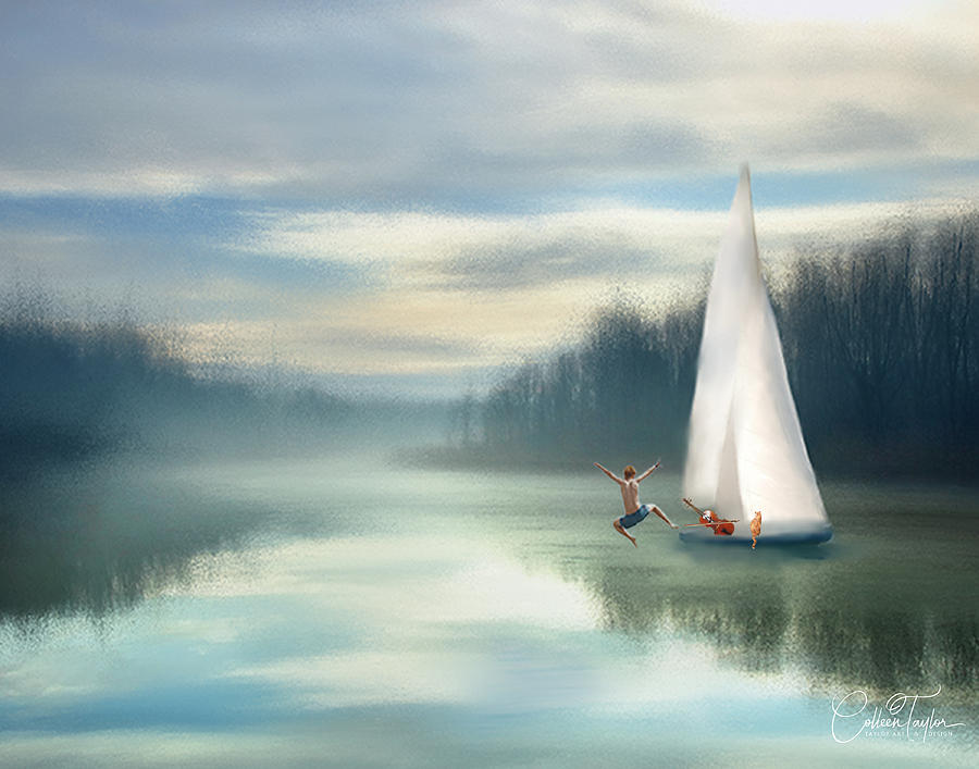 Sailing Down the River by Colleen Taylor