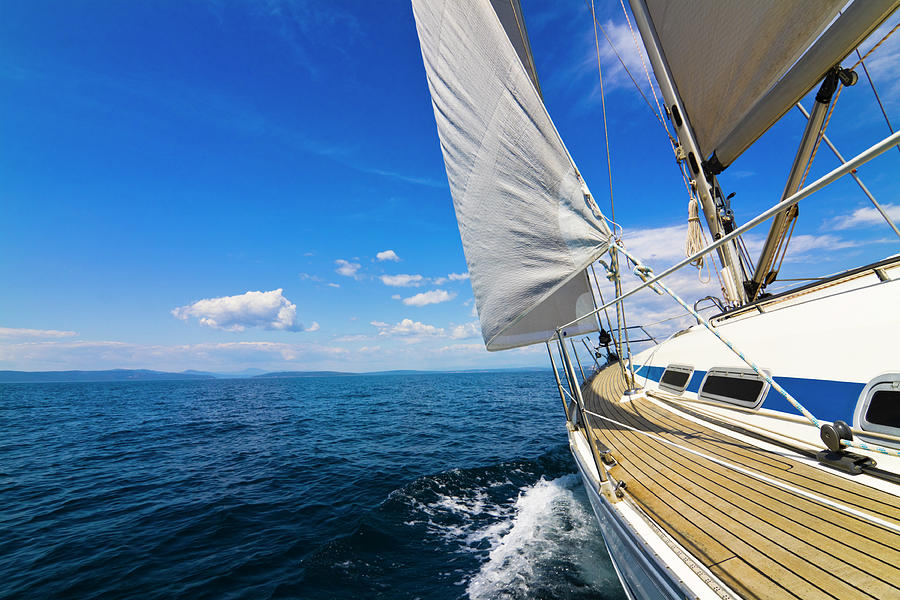 Sailing Photograph by Gaspr13