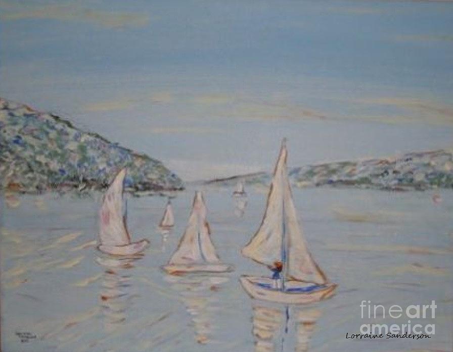 Sailing Her Own by Lorraine Sanderson