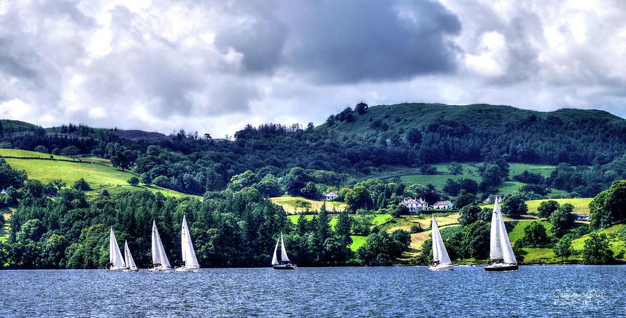 Sailing In Heaven by Lance Sheridan-Peel