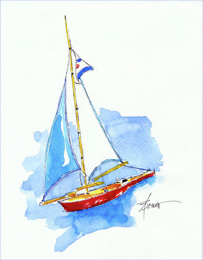 Sailing in Paris  by Adele Bower