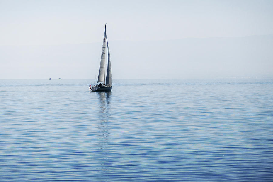 Sailing into the Mists by Jeremy Hayden