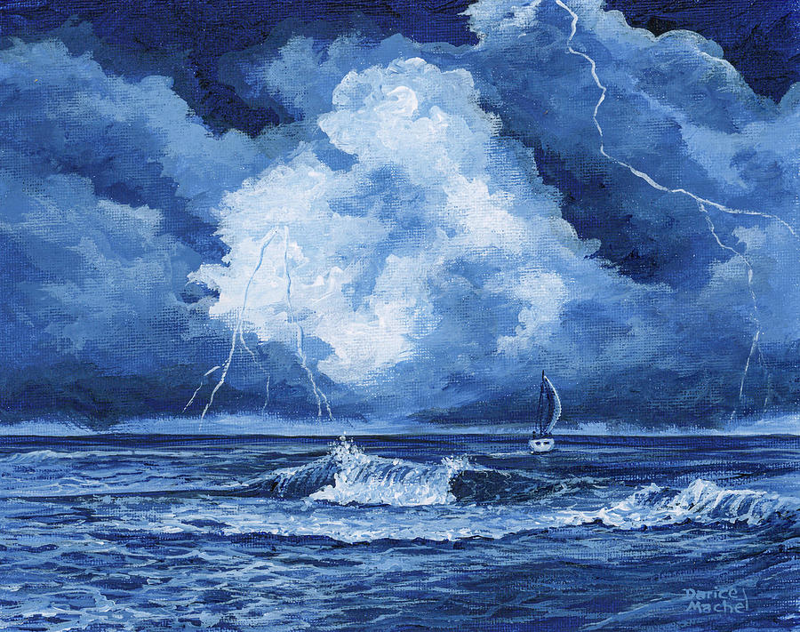 Sailing into The Storm by Darice Machel McGuire