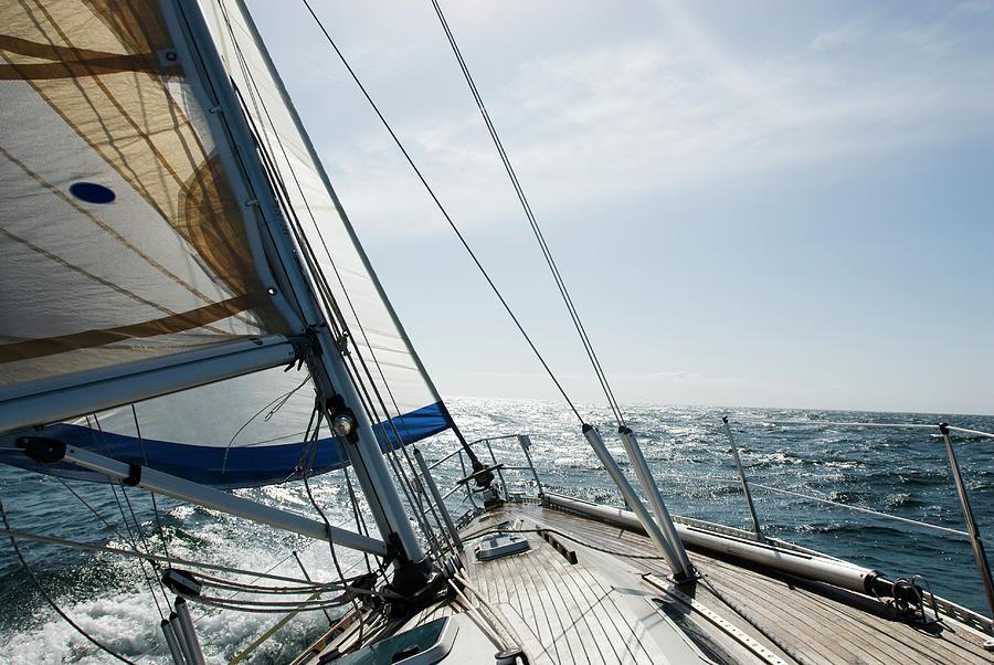 Sailing Photograph by Juhokuva