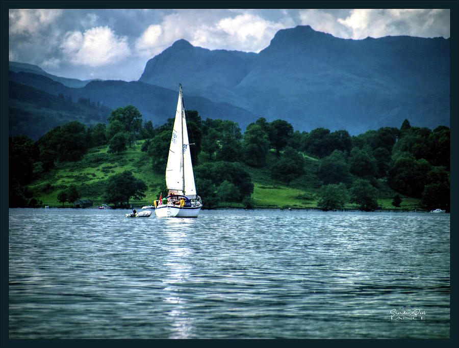Sailing Lake Windermere by Lance Sheridan-Peel