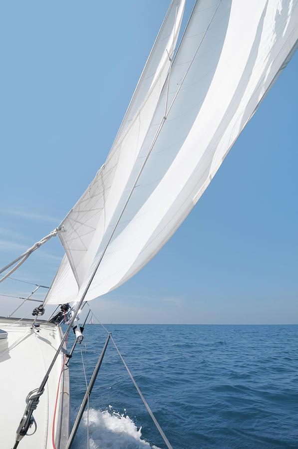 Sailing Photograph by Nikitje
