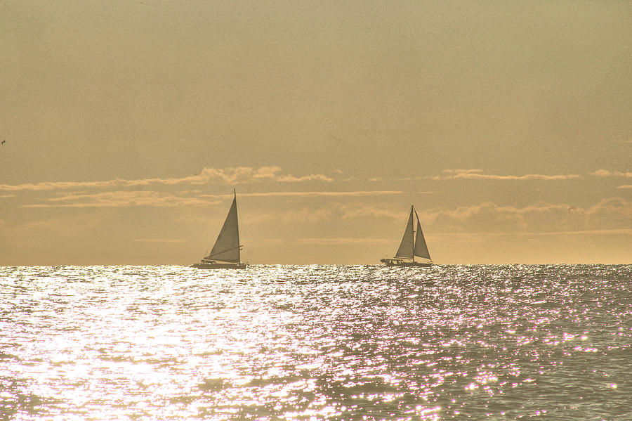 Sailing On The Horizon by Robert Banach