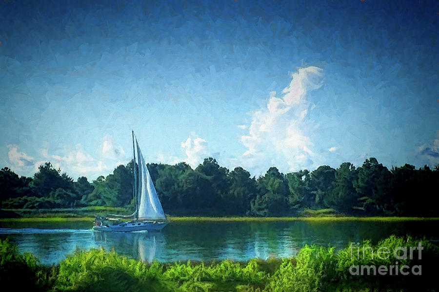 Sailing on the iCW by Irene Dowdy