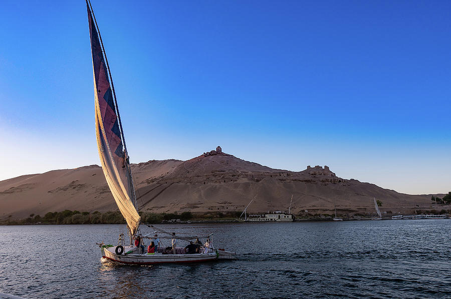 Sailing on the Nile by Karen Rispin