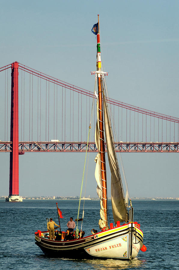Sailing on the Tagus by Pablo Lopez