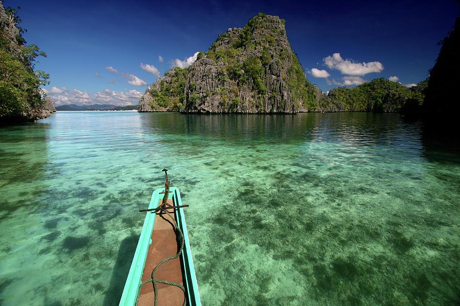 Sailing Over Coral Coron Photograph by Photo ©tan Yilmaz