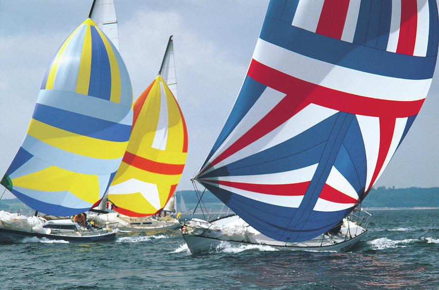 Sailing Race Photograph by John Foxx