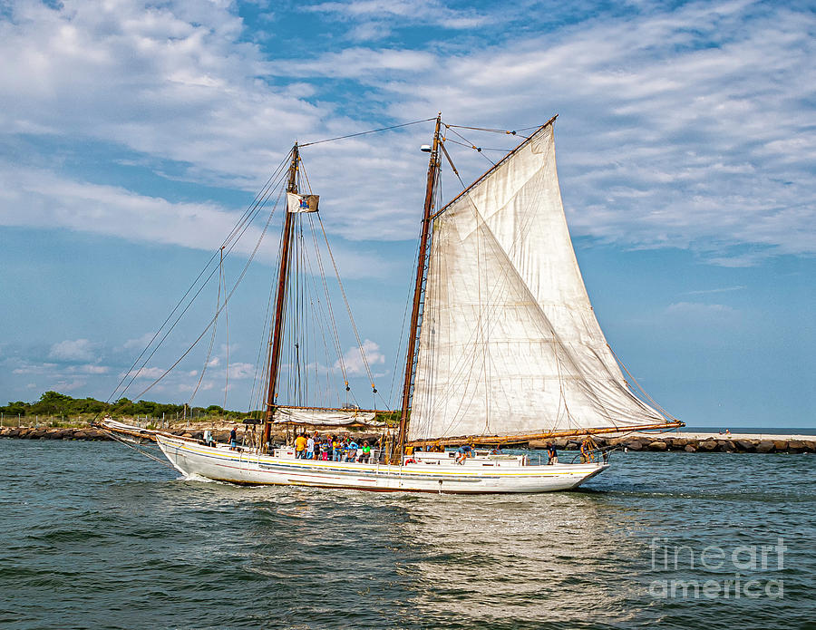 Sailing the Intercoastal by Nick Zelinsky