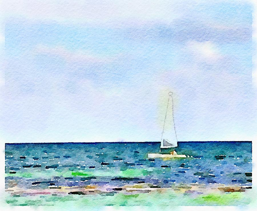 Sailing with Scott by Wade Binford