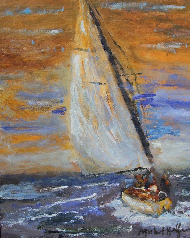 Sailng nto the Sun by Michael Helfen