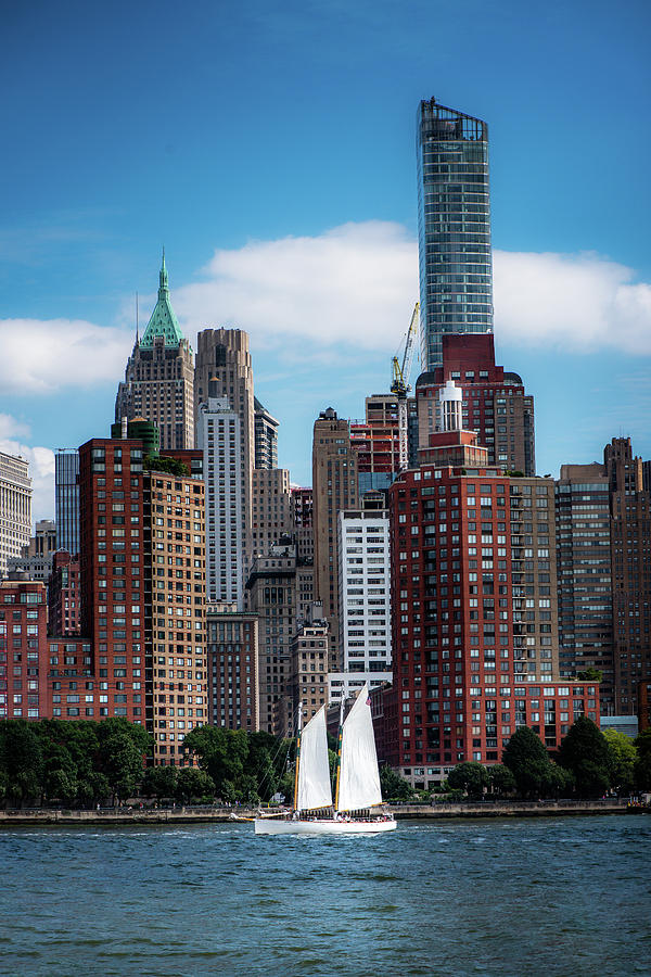 Sails And Tall Buildings by Greg Mimbs