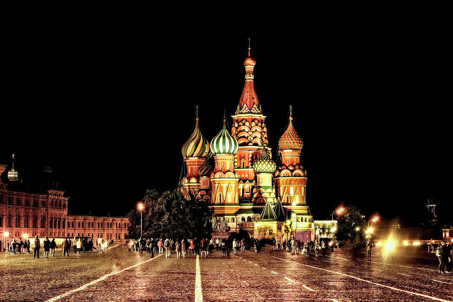 Saint Basil's By Night by Kay Brewer