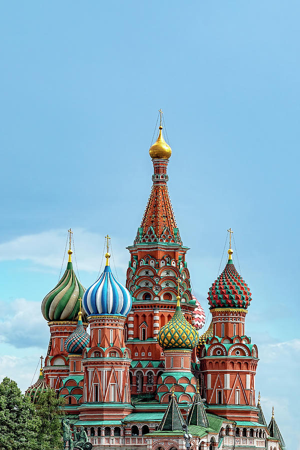 Saint Basil's Cathedral, Moscow by Kay Brewer