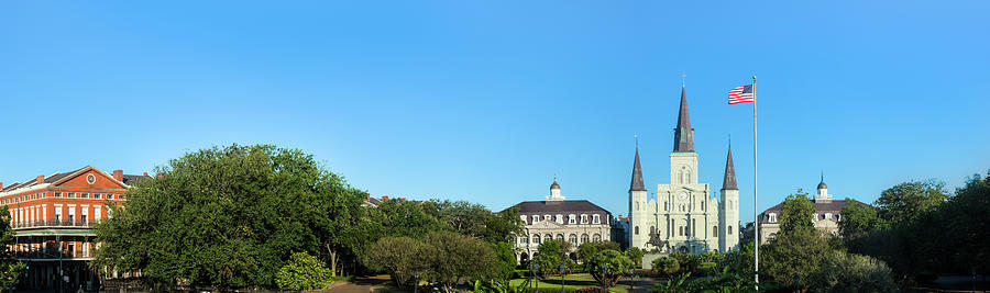 Saint Louis Cathedral Panorama Photograph by Drnadig