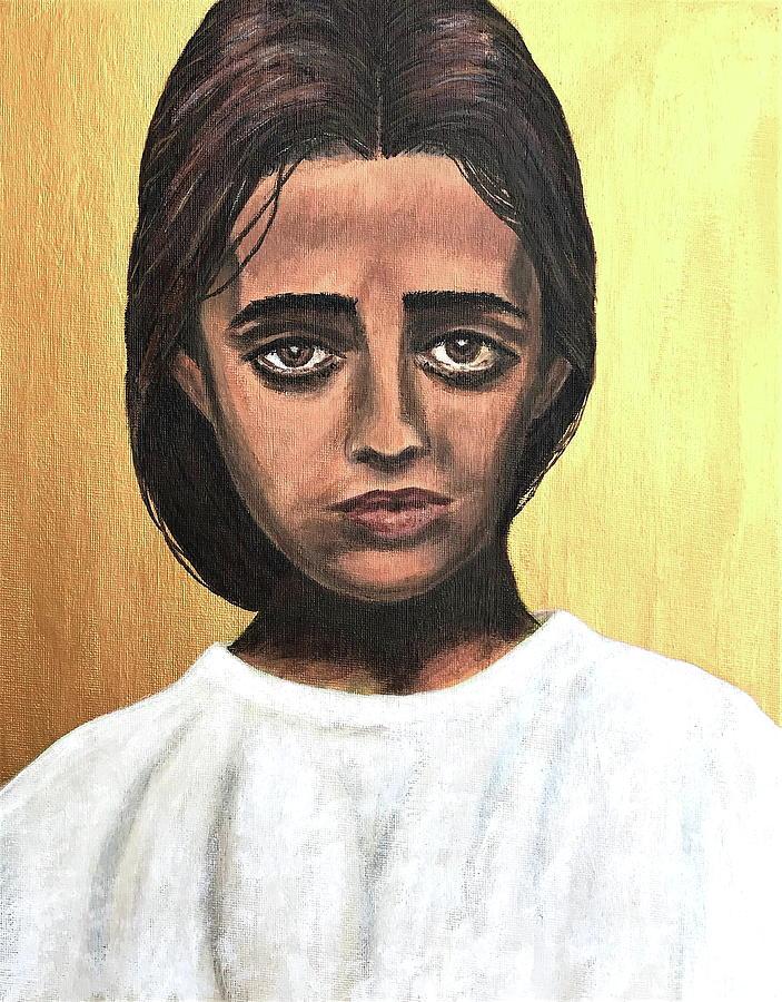 Portrait Painting - Saint Maria Goretti by Mikayla Ruth Koble