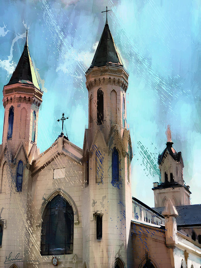 Saint Mary Cathedral Galveston by GW Mireles