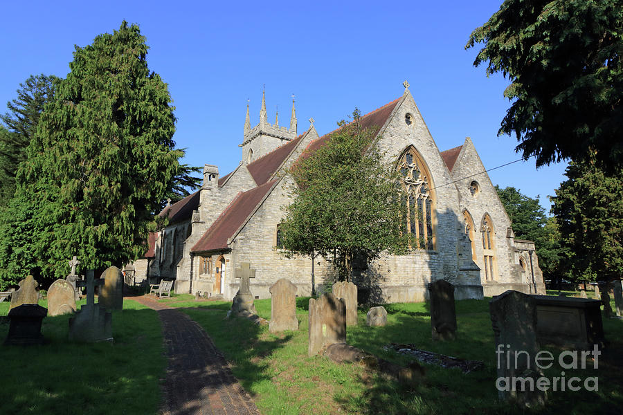 Saint Marys Church Ewell Epsom Surrey England by Julia Gavin
