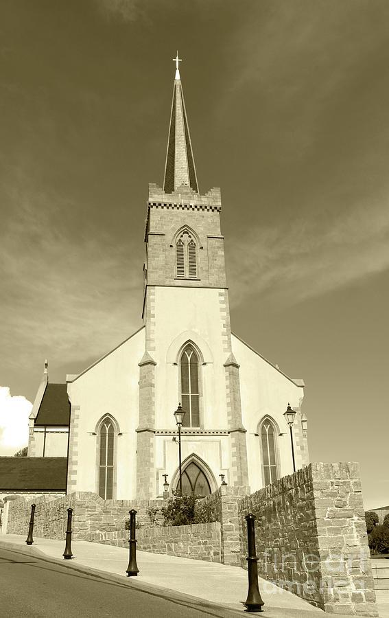 Saint Mary's Church Killybegs Tint by Eddie Barron