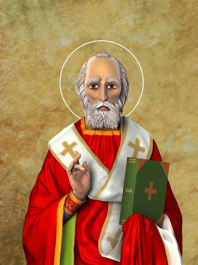 Saint Nicholas Lighting One by Dave Luebbert