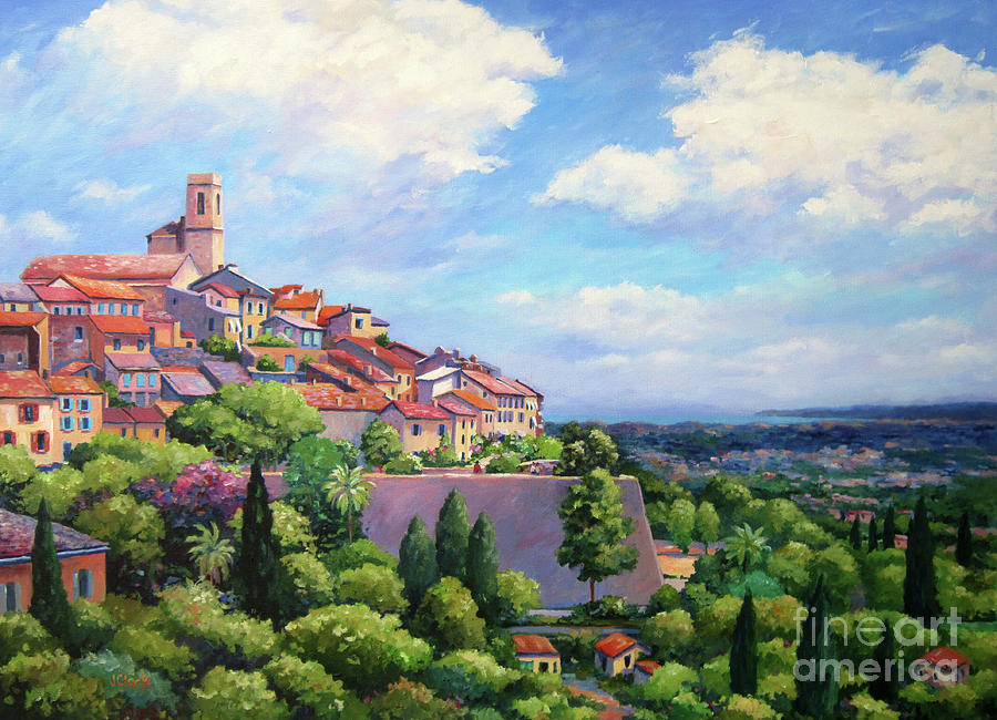 St Paul Painting - Saint Paul De Vence by John Clark