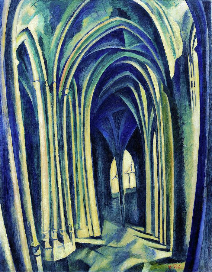 Saint-Severin No.3 - Digital Remastered Edition by Robert Delaunay