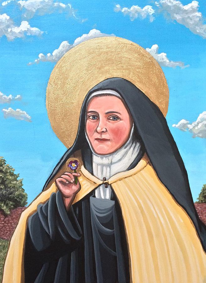 Saint Therese of Lisieux,  by Kelly Latimore