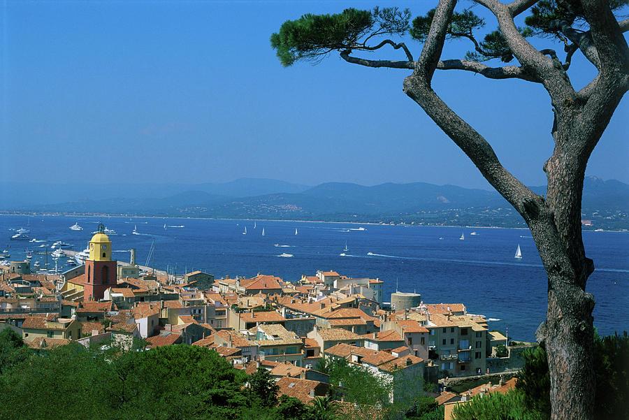 Saint-tropez - Provence Photograph by Martial Colomb