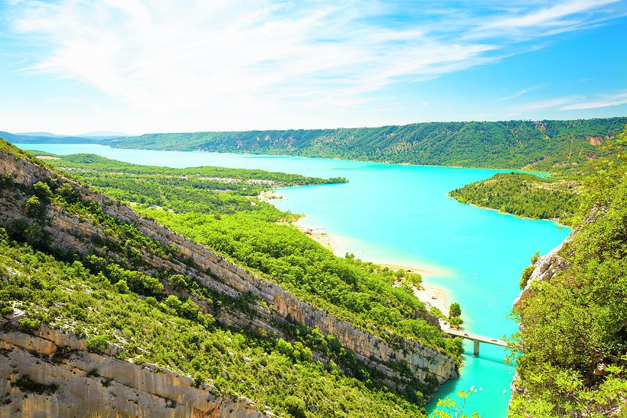 Sainte-croix Lake, France Photograph by Spooh