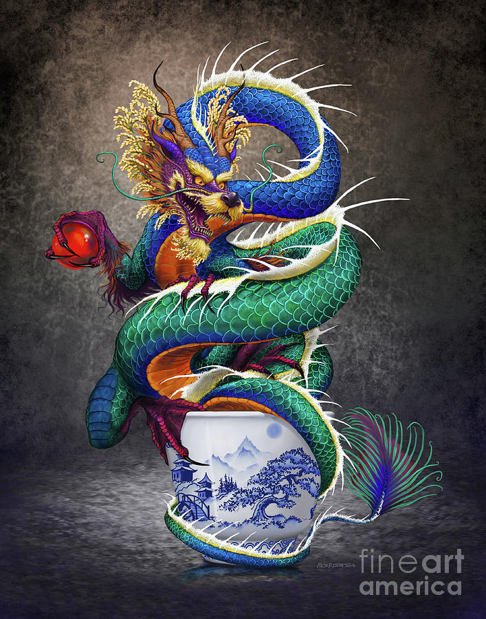 Sake Dragon by Stanley Morrison