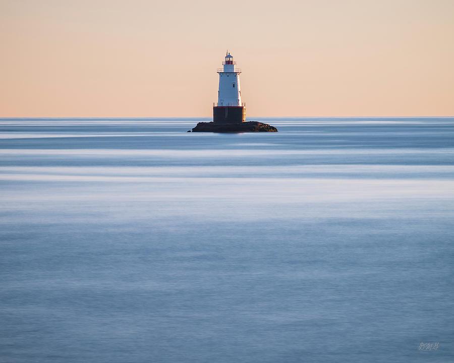 Atlantic Photograph - Sakonnet Point Lighthouse Little Compton Ri Color by David Gordon