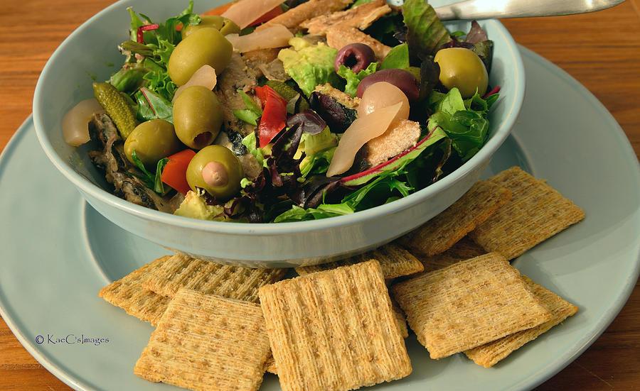 Salad Mediterranean Style by Kae Cheatham