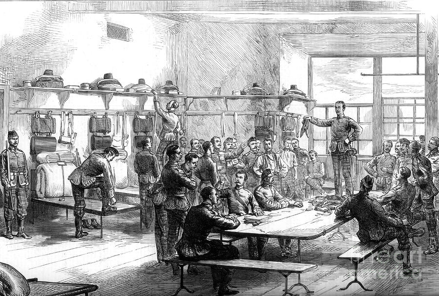 Sale Of A Deserters Kit Drawing by Print Collector