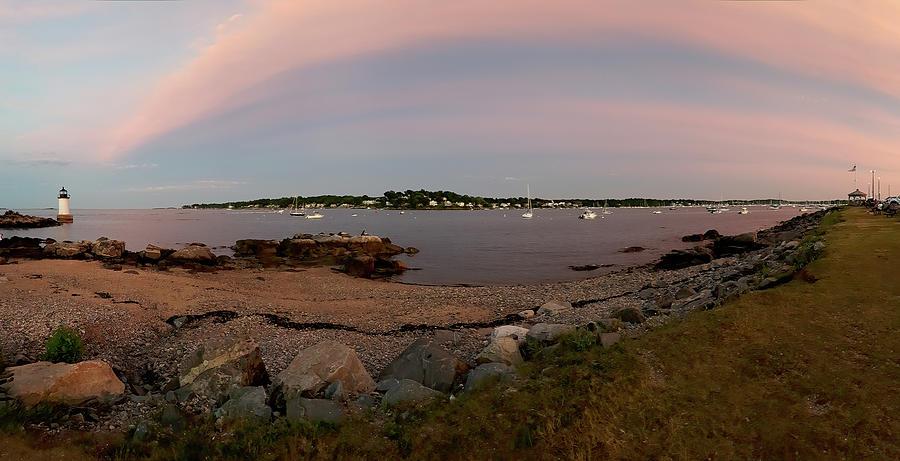 Salem Harbor from Winter Island by Jeff Folger
